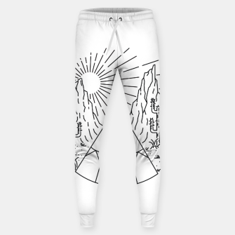 Miniatur Indian  Camp Sweatpants, Live Heroes