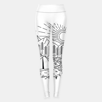 Thumbnail image of Camping Leggings, Live Heroes