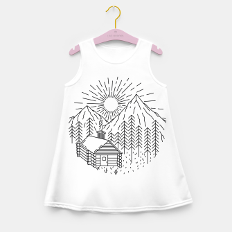 Thumbnail image of Home Sweet Home Girl's summer dress, Live Heroes