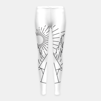 Thumbnail image of Indian  Camp Girl's leggings, Live Heroes