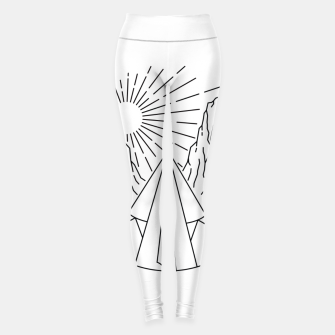 Thumbnail image of Indian  Camp Leggings, Live Heroes