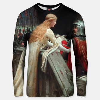 Miniaturka God Speed by Edmund Leighton Unisex sweater, Live Heroes