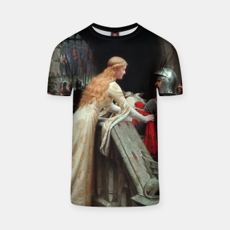 Thumbnail image of God Speed by Edmund Leighton T-shirt, Live Heroes