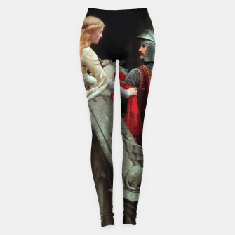 Miniaturka God Speed by Edmund Leighton Leggings, Live Heroes