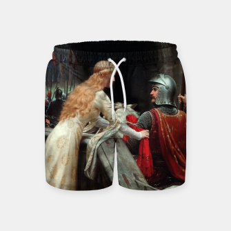 Miniaturka God Speed by Edmund Leighton Swim Shorts, Live Heroes