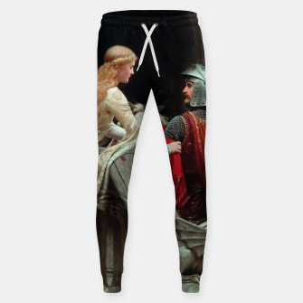 Miniatur God Speed by Edmund Leighton Sweatpants, Live Heroes