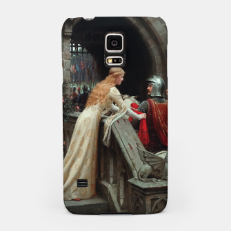 Thumbnail image of God Speed by Edmund Leighton Samsung Case, Live Heroes