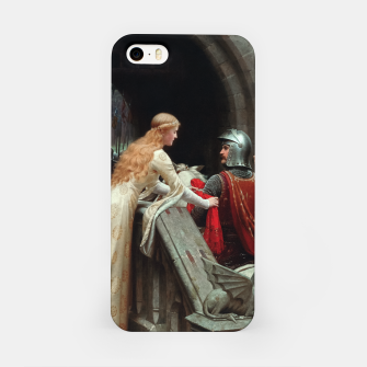 Miniaturka God Speed by Edmund Leighton iPhone Case, Live Heroes