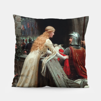Miniaturka God Speed by Edmund Leighton Pillow, Live Heroes