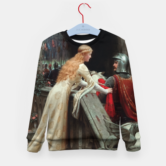 Miniaturka God Speed by Edmund Leighton Kid's sweater, Live Heroes