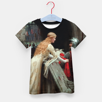 Thumbnail image of God Speed by Edmund Leighton Kid's t-shirt, Live Heroes