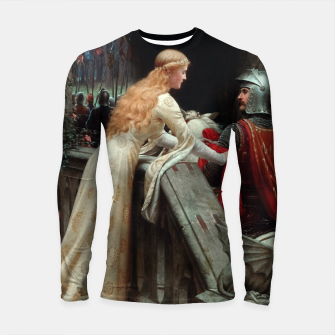 Thumbnail image of God Speed by Edmund Leighton Longsleeve rashguard , Live Heroes