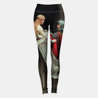 Thumbnail image of God Speed by Edmund Leighton Leggings, Live Heroes