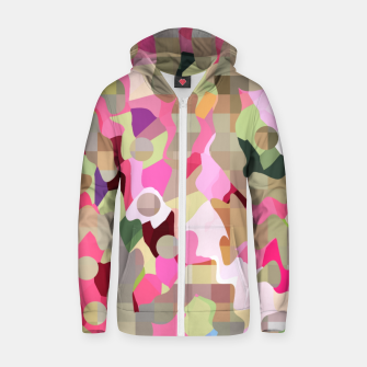 Thumbnail image of bubblegum Zip up hoodie, Live Heroes