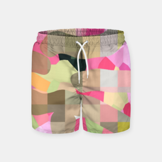 Thumbnail image of bubblegum Swim Shorts, Live Heroes