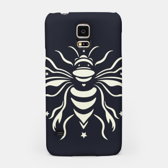 Miniatur Bee black by #Bizzartino Samsung Case, Live Heroes