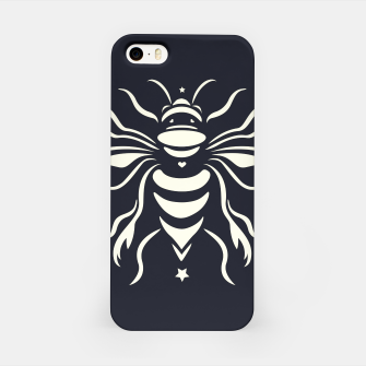 Miniatur Bee black by #Bizzartino iPhone Case, Live Heroes