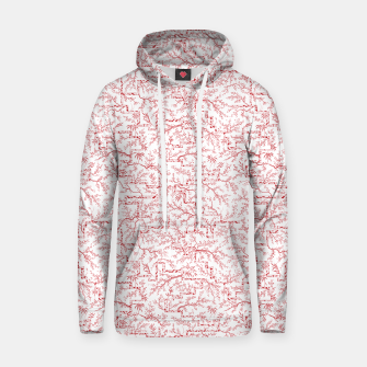 Miniatur Sakura bloom on a snowy morning Hoodie, Live Heroes
