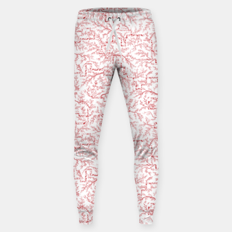 Miniatur Sakura bloom on a snowy morning Sweatpants, Live Heroes