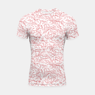 Miniatur Sakura bloom on a snowy morning Shortsleeve rashguard, Live Heroes