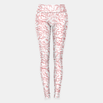 Miniatur Sakura bloom on a snowy morning Leggings, Live Heroes