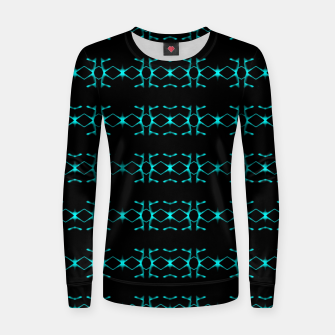 Thumbnail image of Neon Stripes Ethnic Geometric Pattern Women sweater, Live Heroes