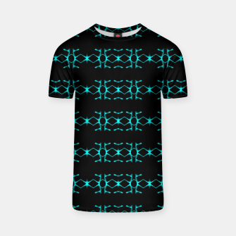 Thumbnail image of Neon Stripes Ethnic Geometric Pattern T-shirt, Live Heroes