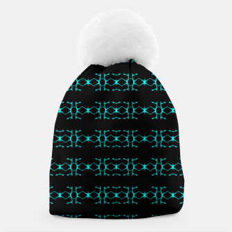 Thumbnail image of Neon Stripes Ethnic Geometric Pattern Beanie, Live Heroes