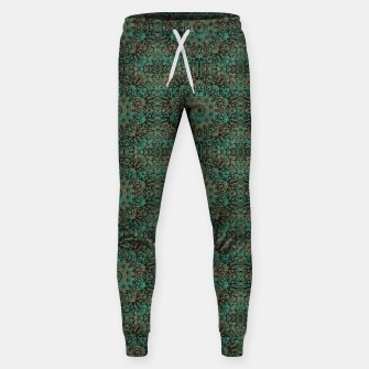 Miniatur Copper Patina Kaleidoscope Sweatpants, Live Heroes