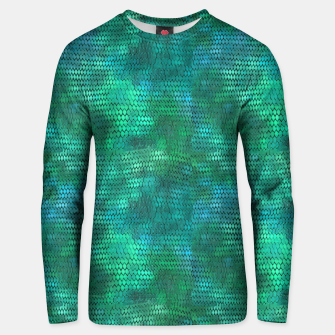 Miniaturka Blue Green Dragon Scales Unisex sweater, Live Heroes