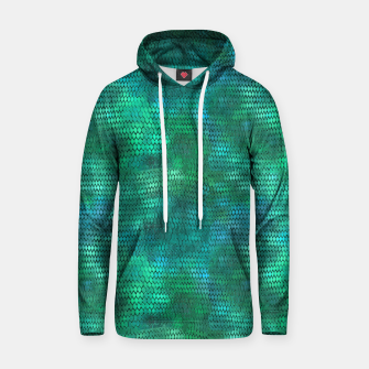 Thumbnail image of Blue Green Dragon Scales Hoodie, Live Heroes