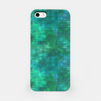 Miniaturka Blue Green Dragon Scales iPhone Case, Live Heroes