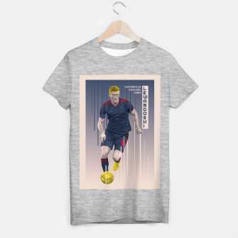 Thumbnail image of Golden Booters - Lewandoski 3rd Kit Variant T-shirt regular, Live Heroes