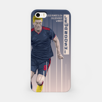 Thumbnail image of Golden Booters - Lewandoski 3rd Kit Variant iPhone Case, Live Heroes