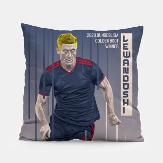 Thumbnail image of Golden Booters - Lewandoski 3rd Kit Variant Pillow, Live Heroes