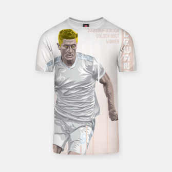 Thumbnail image of Golden Booters - Lewandoski Away Kit Variant T-shirt, Live Heroes