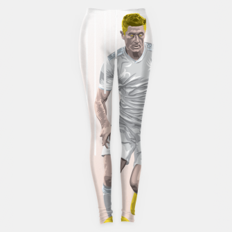 Thumbnail image of Golden Booters - Lewandoski Away Kit Variant Leggings, Live Heroes