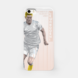 Thumbnail image of Golden Booters - Lewandoski Away Kit Variant iPhone Case, Live Heroes