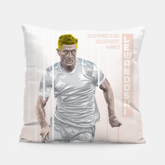 Thumbnail image of Golden Booters - Lewandoski Away Kit Variant Pillow, Live Heroes