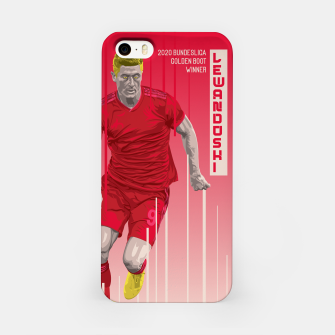 Thumbnail image of Golden Booters - Lewandoski iPhone Case, Live Heroes
