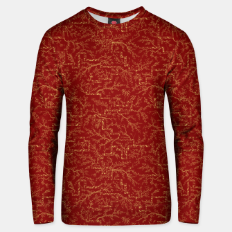 Miniatur Sakura bloom at golden red sunset Unisex sweater, Live Heroes