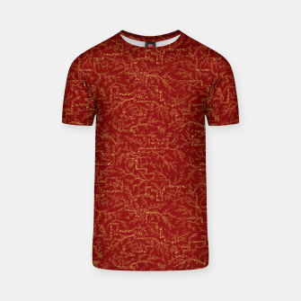 Miniatur Sakura bloom at golden red sunset T-shirt, Live Heroes