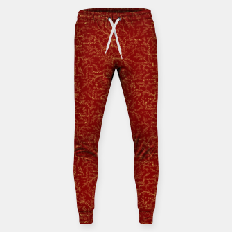 Miniatur Sakura bloom at golden red sunset Sweatpants, Live Heroes