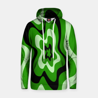 Thumbnail image of Abstract pattern - green. Hoodie, Live Heroes