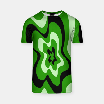 Thumbnail image of Abstract pattern - green. T-shirt, Live Heroes