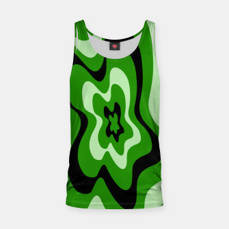 Miniatur Abstract pattern - green. Tank Top, Live Heroes