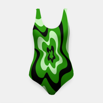 Thumbnail image of Abstract pattern - green. Swimsuit, Live Heroes