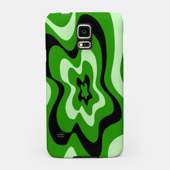 Miniatur Abstract pattern - green. Samsung Case, Live Heroes