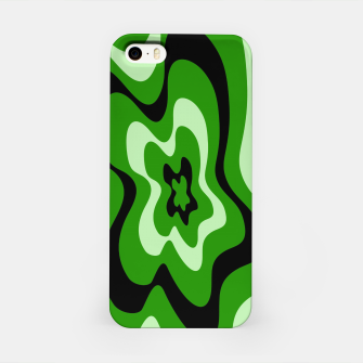 Miniatur Abstract pattern - green. iPhone Case, Live Heroes