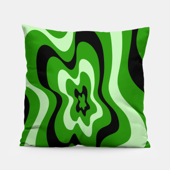 Thumbnail image of Abstract pattern - green. Pillow, Live Heroes